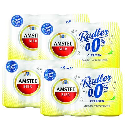 Amstel Radler citroen 0.0% blik 24 x 33 cl.