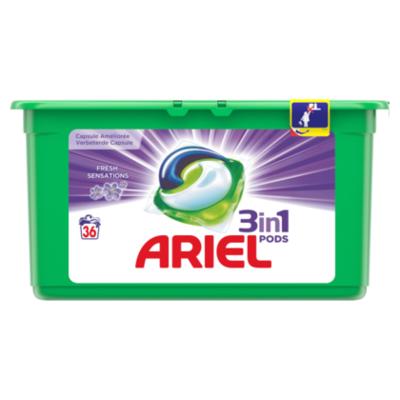 Ariel Pods fresh sensation purple 36st