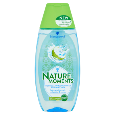 Schwarzkopf Nature Moments Indonesian Coconut Water & Lotus Flower Shampoo 200 ml