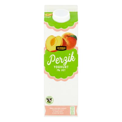 Huismerk Perzik Yoghurt 1% Vet