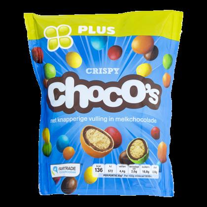 Huismerk Choco's crispy Fairtrade