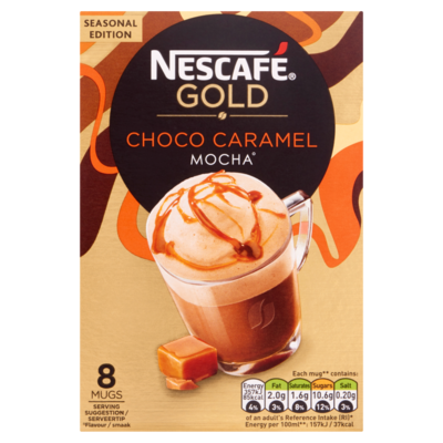 Nescafe Gold caramel mocha 8 stuks