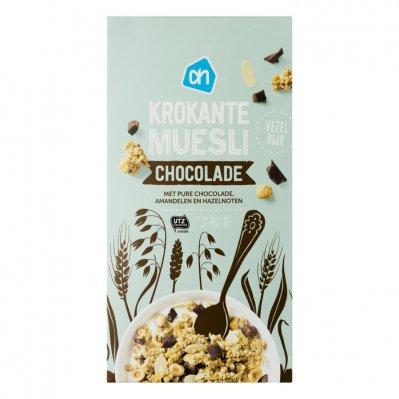 Huismerk Krokante muesli chocolade