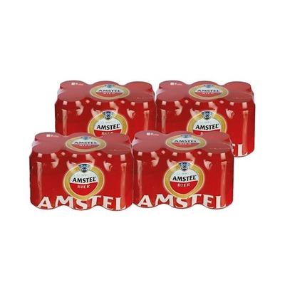 Amstel blik 33 cl. 4 x 6-pack