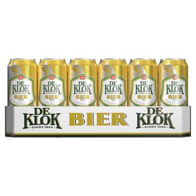De Klok Bier Blik 24 X 50 Cl
