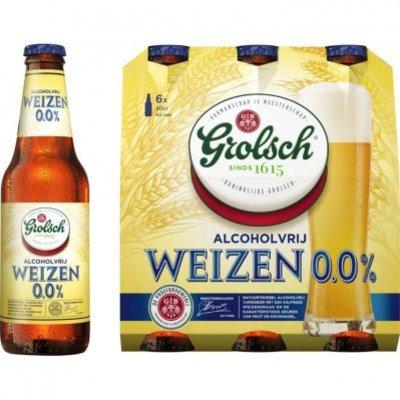 Grolsch Weizen 0% fles
