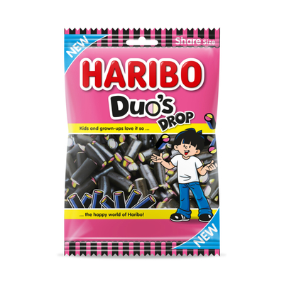 Haribo Duo's drop