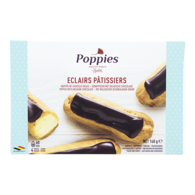 Poppies Eclairs patissiers 4st