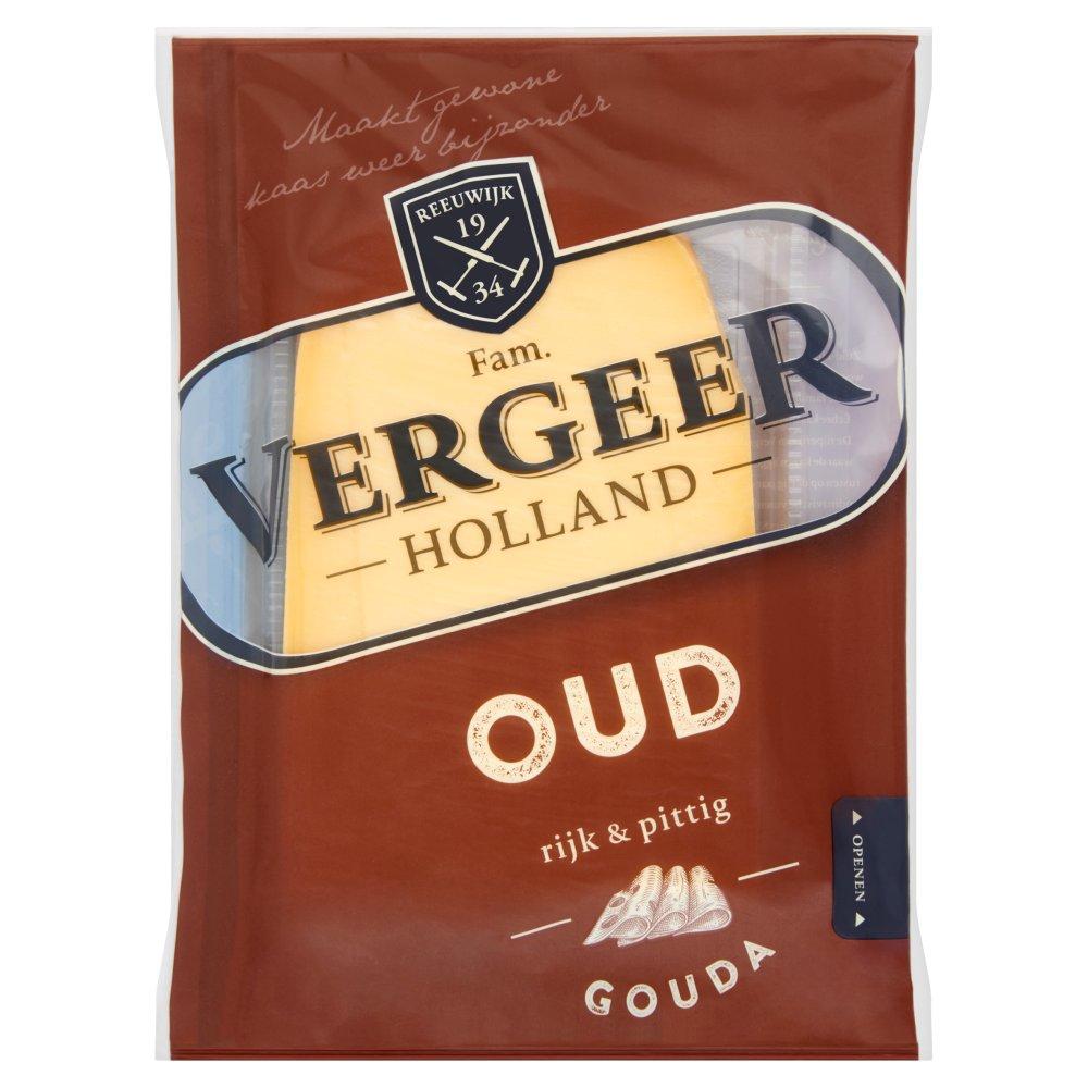 Vergeer Holland Oud Gouda Kaas 48+ Plakken 200 g