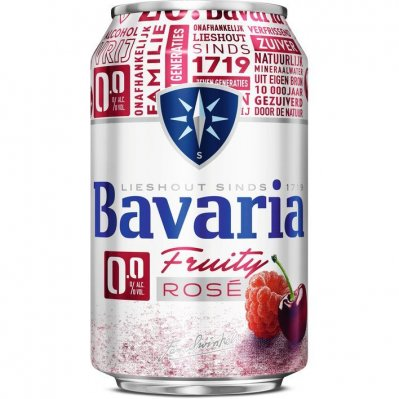 Bavaria Fruity rosé 0.0%