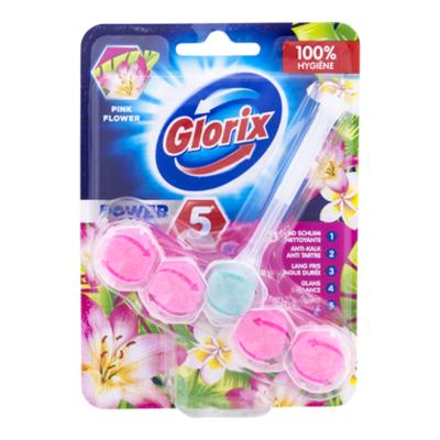 Glorix Toiletblok power pink flower