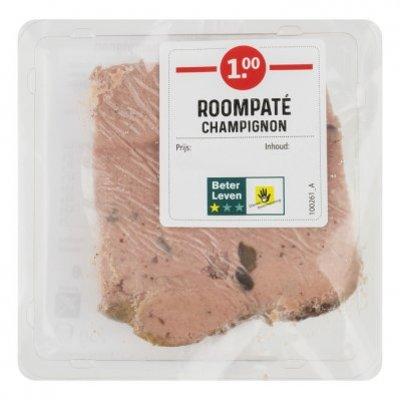 Huismerk Roompaté champignon pie