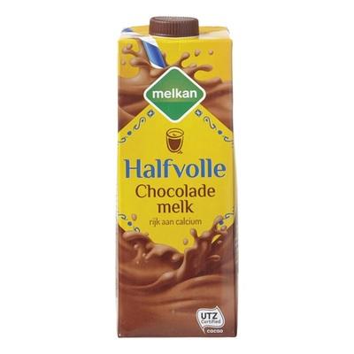Huismerk chocolademelk halfvol