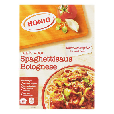 Honig Mix voor spaghettisaus bolognese
