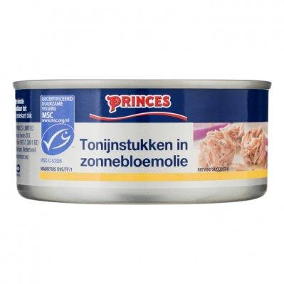Princes Tonijnstukken in zonnebloemolie MSC