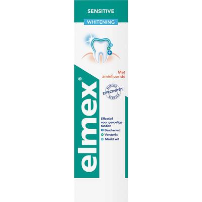 Elmex Sensitive + whitening tandpasta