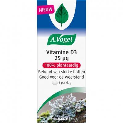 A. Vogel Vitamine D3 25 UG tabletten