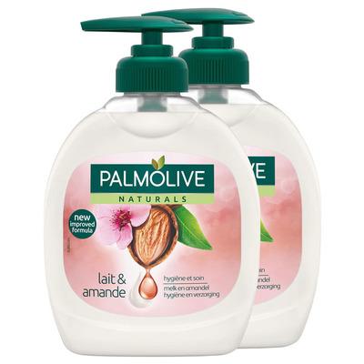 Palmolive Vloeibare zeep amandel duo