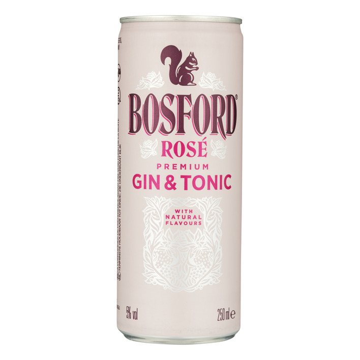 Bosford Pink gin tonic
