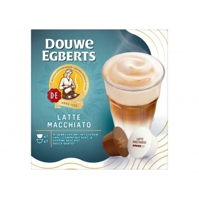 Douwe Egberts Koffie capsules latte macchiato