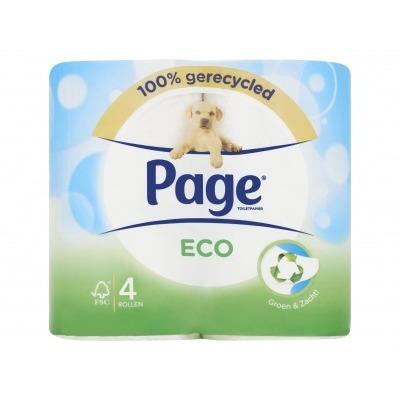 Page Toiletpapier eco 4-rol