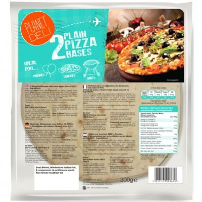 Planet Deli Pizza base