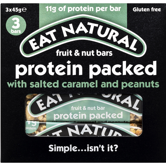 Eat Natural Protein packed with salted caramel