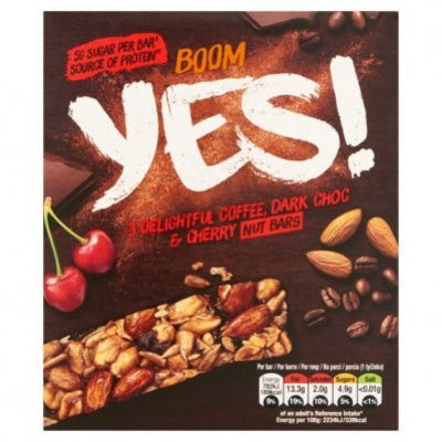 Yes Notenreep koffie & pure chocolade 3pack