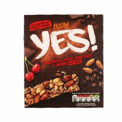 Yes Pure chocola & koffie notenreep 3pack