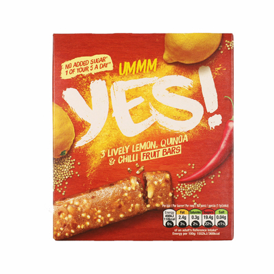 Yes Citroen & quinoa fruitreep 3pack