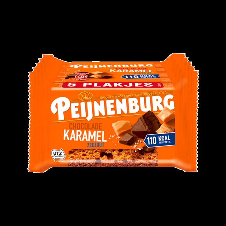 Peijnenburg Ontbijtkoek Chocolade Karamel Zeezout 5 Repen