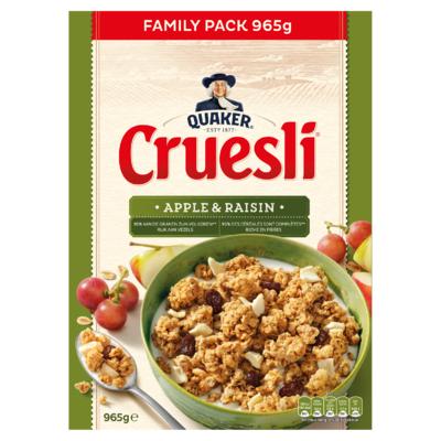 Quaker Cruesli Appel & Rozijn 965 gr