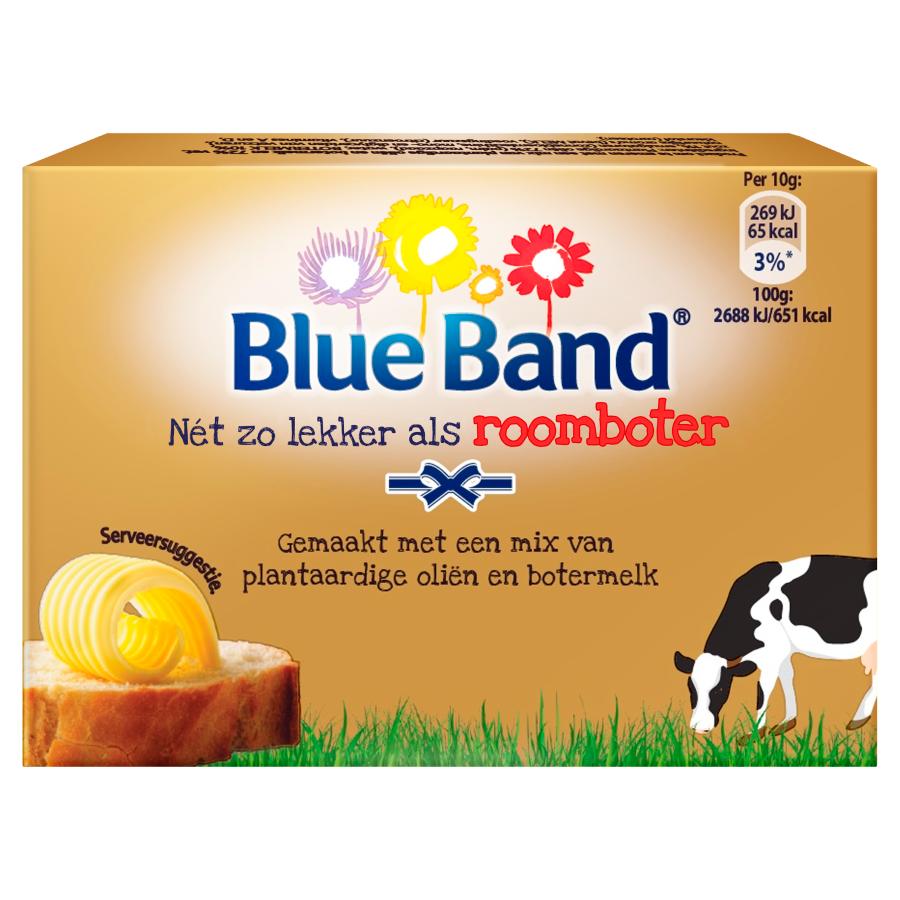 Blue Band Net zo lekker als roomboter ongezouten