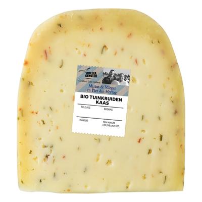 Streeckgenoten Tuinkruiden kaas 50+ stuk bio