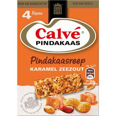 Calvé Pindakaasreep karamel