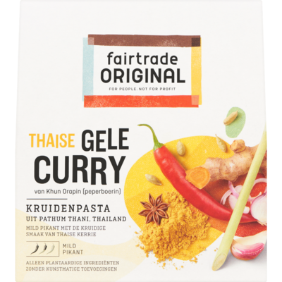 Fair Trade Original Kruidenpasta gele curry