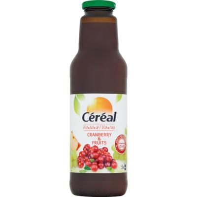 Céréal Cranberrysap