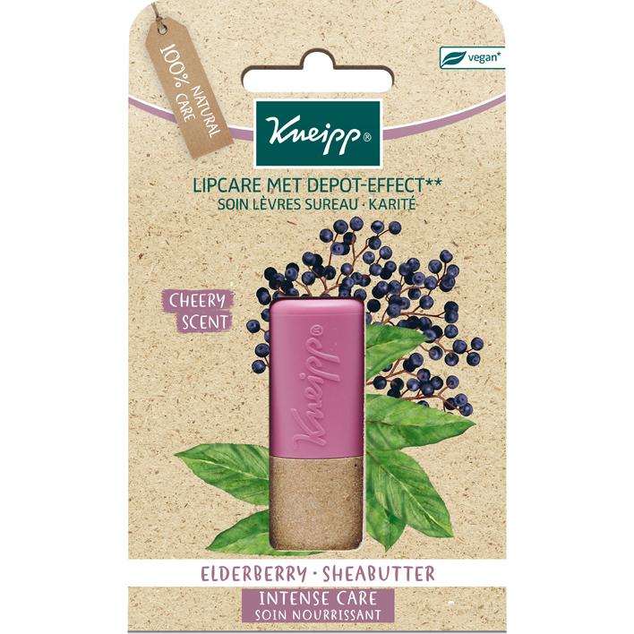 Kneipp Lipcare elderberry sheabutter blister