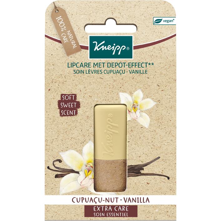 Kneipp Lipcare cupuacu-vanilla blisterkaart