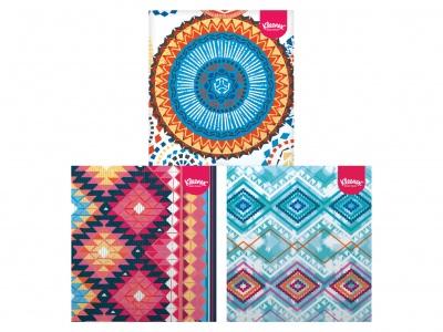 Kleenex Collection tissue trio box