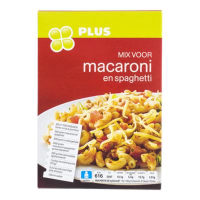 Huismerk Mix voor macaroni spaghetti