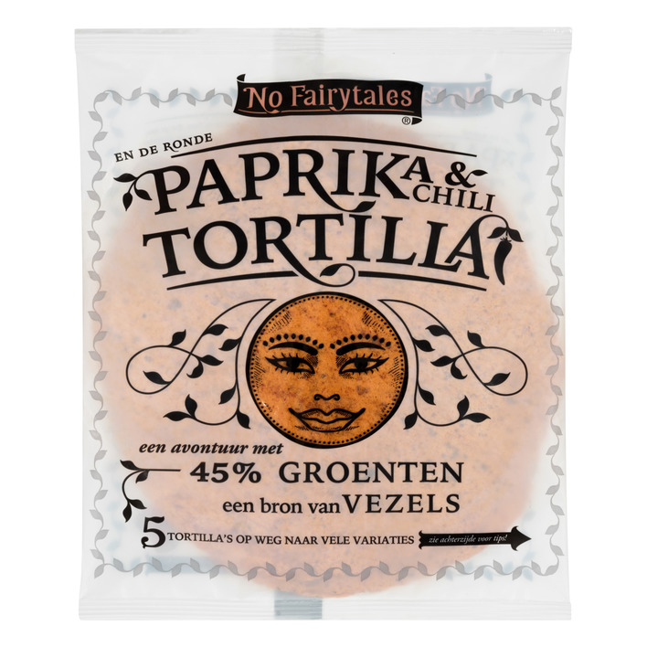 No Fairytales Paprika chili tortilla