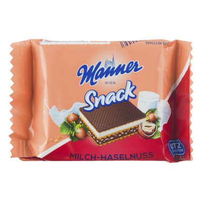 Manner Milk-hazelnut wafer