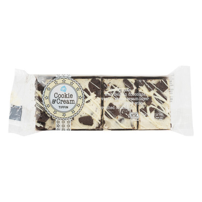 Huismerk Cookie and cream tiffin