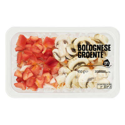 Huismerk Bolognese groente