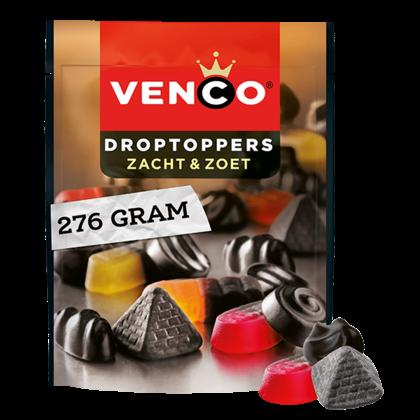 Venco Droptoppers zacht zoet
