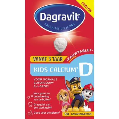 Dagravit Vitaminen kids calcium + D