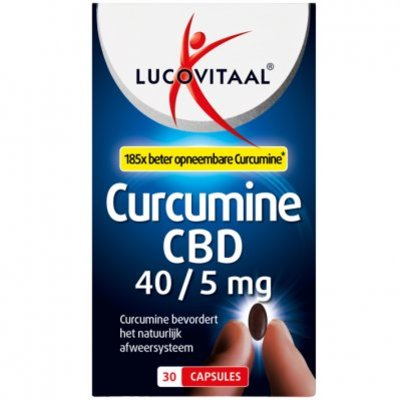 Lucovitaal Curcumine cbd capsules