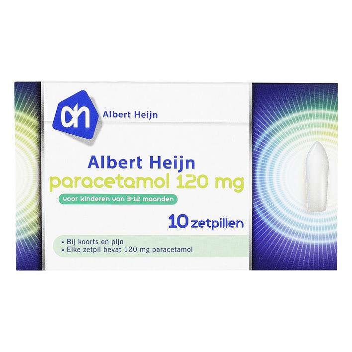 Huismerk Paracetamol zetpillen kind 120 mg
