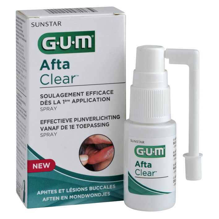 GUM AftaClear aftenspray